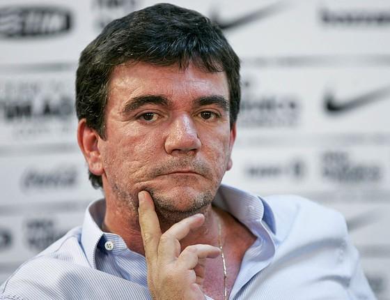 Andrés Sanchez, ex-presidente do Corinthians e responsável pela construção e pela gestão da Arena Corinthians (Foto: Getty Images)