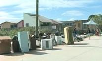 Projeto em escola de Bagé conscientiza sobre descarte de lixo (Reprodução/RBS TV)