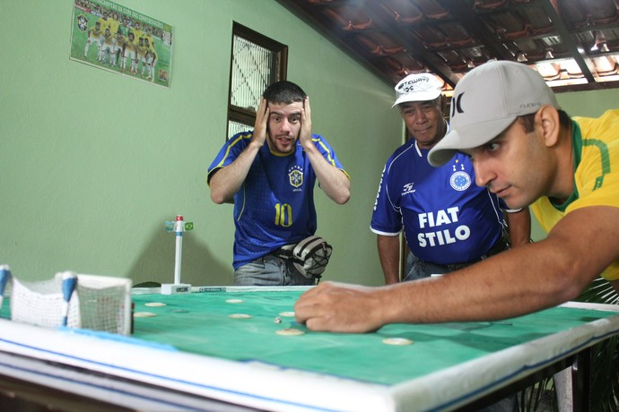 Futebol de Mesa Araxá (Foto: Maritza Borges)