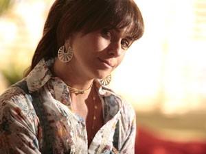 Giovanna Antonelli comemora parceria com Gianecchini (Foto: Pedro Curi/TV Globo)