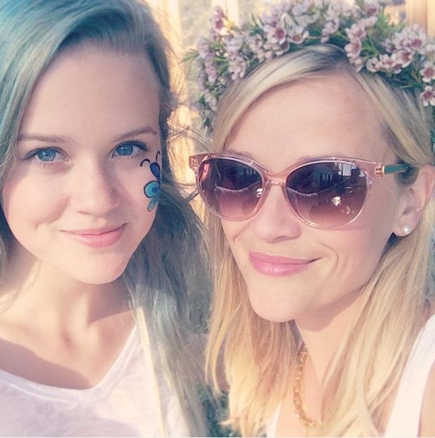 Reese Witherspoon com a filha, Ava Phillippe (Foto: Reprodução/Instagram)