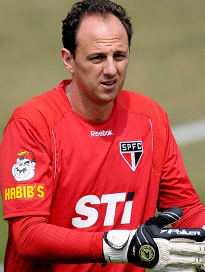 Rogerio Ceni no treino do São Paulo (Foto: Dorival Rosa / Vipcomm)