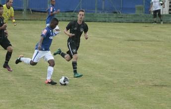 Nos pênaltis, Cruzeiro bate Botafogo e é primeiro semifinalista da Copa sub-15