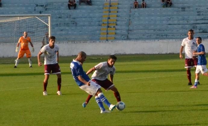 Jairo atacante São José EC x Juventus (Foto: Felipe Kyoshy/GloboEsporte.com)