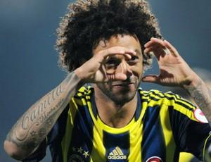 Cristian gol Fenerbahçe (Foto: Reprodução / Site Oficial)