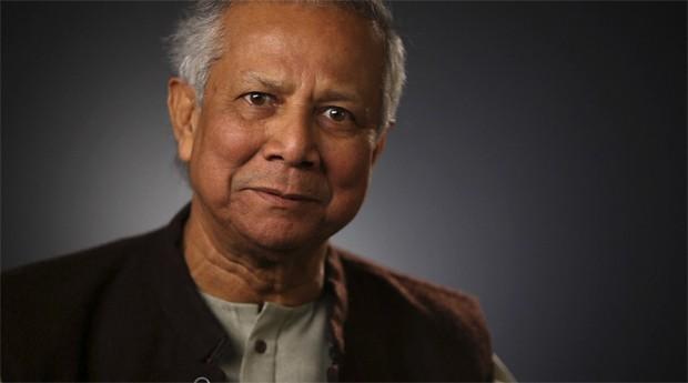 """Muhammad Yunus: """"Jovens devem usar suas inquietações para criar um negócio que ajude os pobres"""" (Foto: Reprodução)"""