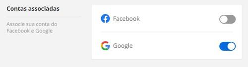 Logar com o Facebook (Foto: Globoplay)