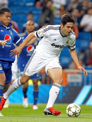 Kaka, Real Madrid x Millionarios, FOTO AGÊNCIA AP (Foto: Agência AP)