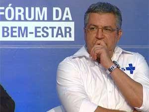 O ministro da Saúde, Alexandre Padilha (Foto: Reprodução EPTV)