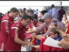 Seleção espanhola chega nos EUA para amistoso contra El Salvador
