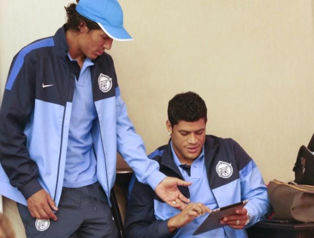 Bruno Alves Hulk Zenit (Foto: Reprodução / Site Oficial)