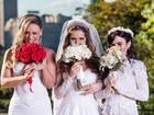 Atriz Suzana Pires vai a sessão de 'Loucas pra casar' na Vila Mimosa