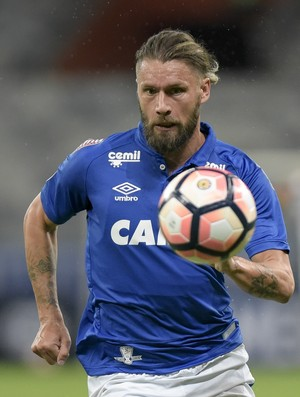 Rafael Sobis; Cruzeiro x Nacional-PAR (Foto: Yuri Edmundo/Light Press)