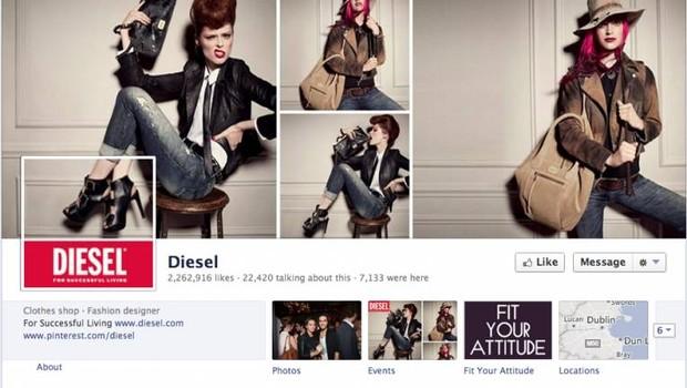 Facebook: Diesel (Foto: reprodução / internet)