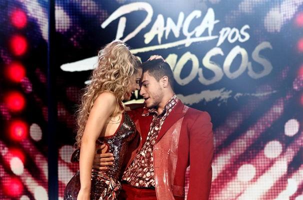 Arthur Aguiar na Dança dos Famosos 2015 (Foto: Reprodução/ Rede Globo)