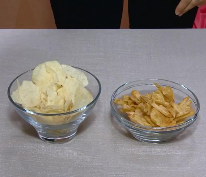 As batatas ficaram fora do pacote: e agora? Veja se rola deixar crocante de novo (Foto: Reprodução)