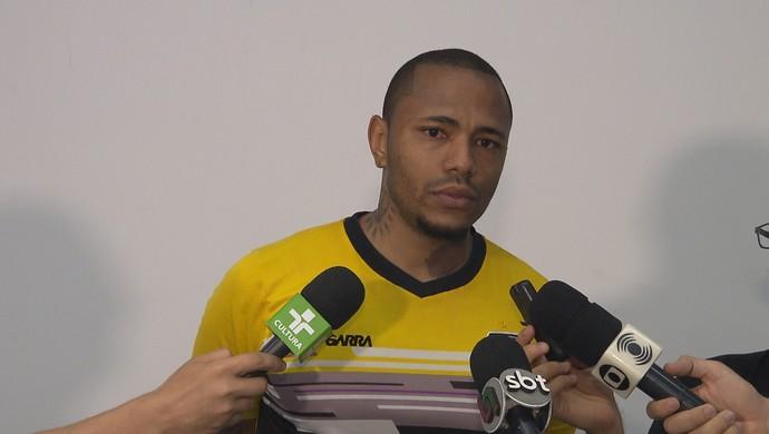 Rafael Dida, goleiro do Treze (Foto: Reprodução / TV Paraíba)