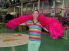 'Foi muita diversão', diz David Brazil após concurso gay na Mangueira