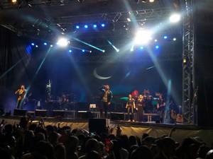 Show de Henrique & Juliano no São João de Petrolina (Foto: Taisa Alencar/G1)