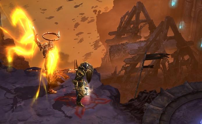 A nova aventura colocará o jogador ao lado de Imperius e Tyrael para invadir a fortaleza Pandemonium (Foto: Reprodução/Daniel Ribeiro)