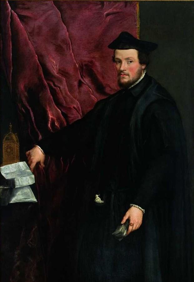 """""""Retrato do Cardeal Cristoforo Madruzzo"""", de Tiziano Vecellio, que faz parte do acervo do MASP (Foto: Divulgação)"""