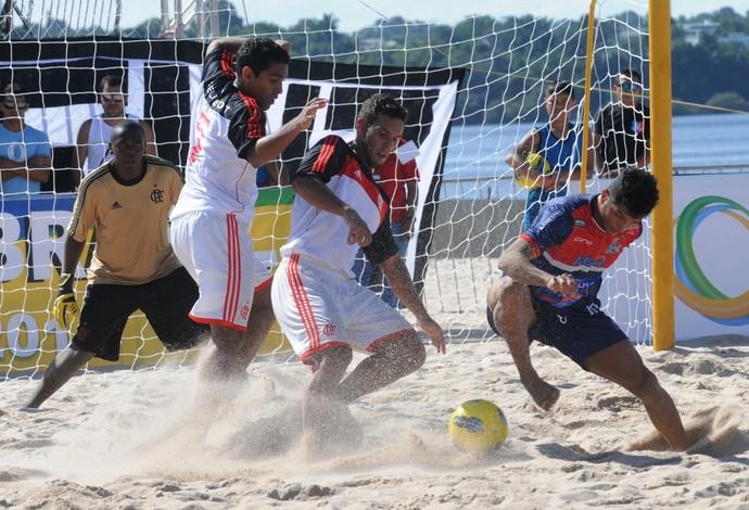 flamengo x vila velha copa brasil de futebol de areia (Foto: Antônio Lima / Semjel)