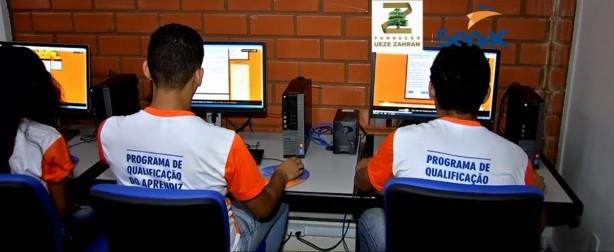 Fundação Zahran em Parceria com o SENAC, disponibilizam cursos (Foto: Reprodução)