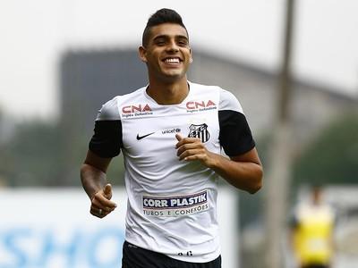 Emerson Santos (Foto: Ricardo Saibun / Divulgação Santos FC)