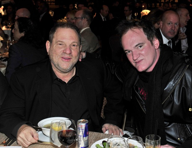 Harvey Weinstein e Quentin Tarantino (Foto: getty images)