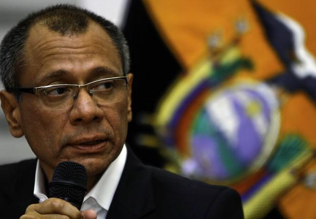O vice-presidente do Equador, Jorge Glas, foi condenado pelo esquema de propina da Odebrecht (Foto: Wikimedia Commons/Wikipedia)