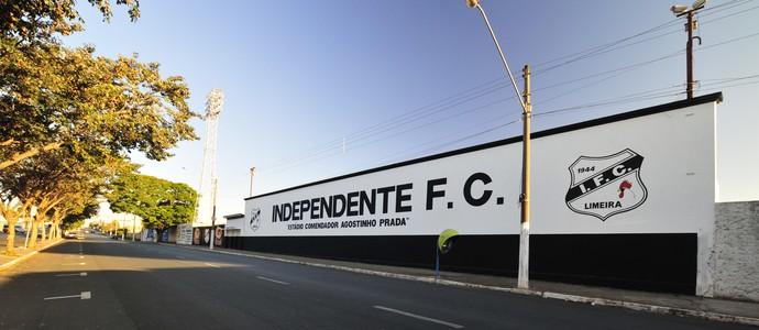 Estádio Comendador Agostinho Prada Limeira (Foto: Divulgação / Independente de Limeira)