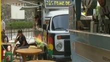 'Food Trucks' são a nova sensação na região (Reprodução/TV TEM)