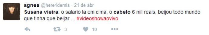 Susana Vieira redes (Foto: TV Globo)
