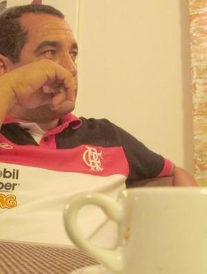 Zinho - Flamengo (Foto: Janir Junior / Globoesporte.com)