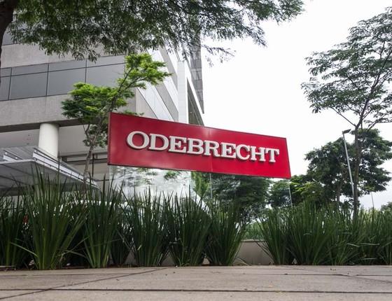 sede da Odebrecht, em São paulo (Foto:  Marivaldo Oliveira/Codigo19/Folhapress)