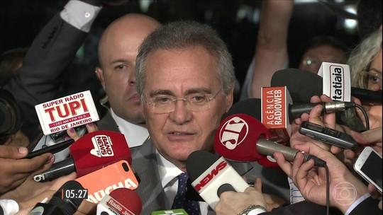 Senado ignora decisão liminar do STF e mantém Renan Calheiros no cargo