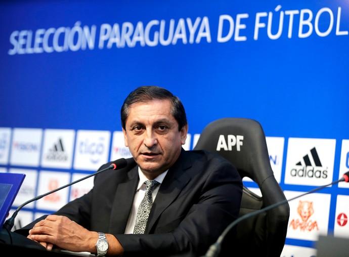 Ramón Díaz técnico Paraguai (Foto: AP)