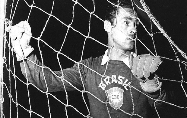 Gilmar dos Santos Neves 1957 (Foto: Agência Estado)