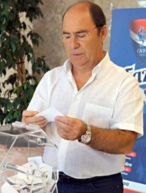 Antonio Fiusa presidente Gil Vicente (Foto: Divulgação/Site Oficial Gil Vicente)