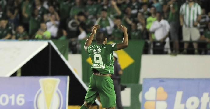Gol Eliandro, Guarani x ASA (Foto: Rodrigo Villalba/ Memory Press)