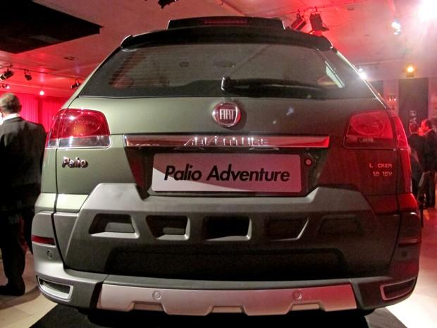 fiat palio adventure 2013 (Foto: Luciana de Oliveira/G1)