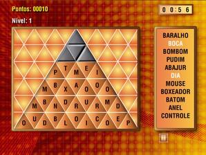 Pirâmide de Palavras