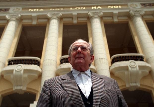 Sawallisch morreu na sexta-feira em sua residência em Grassau (Foto: Frederik Balfou/AFP)