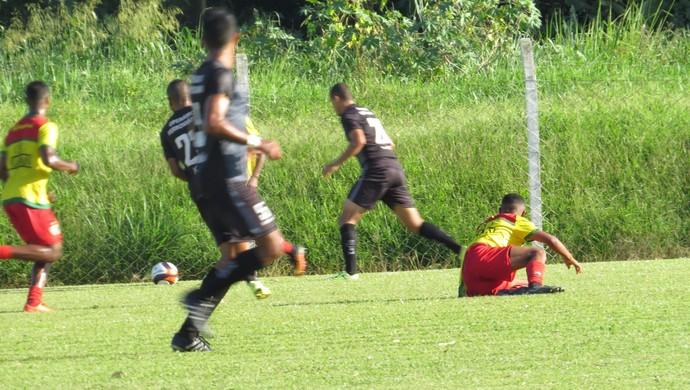 brusque x operário-pr jogo-treino (Foto: Sidney Silva / Brusque)
