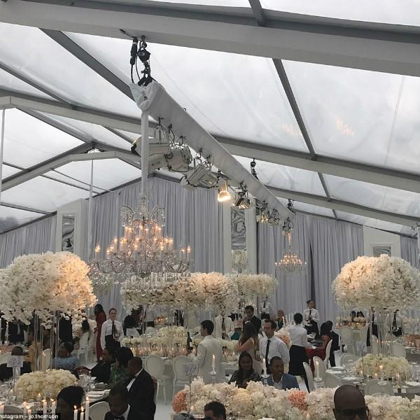 O salão da recepção (Foto: Reprodução/Instagram)
