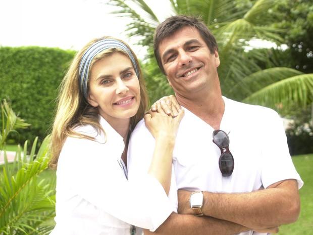 Daniela (Maitê Proença) e Rômulo (Evandro Mesquita) (Foto: CEDOC/TV Globo)