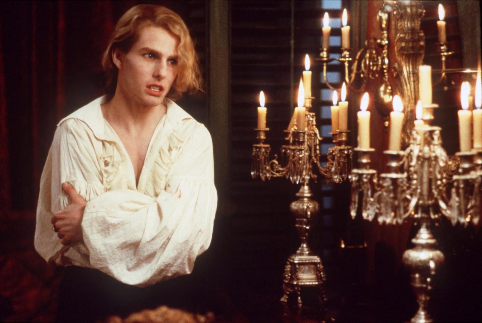 Tom Cruise em Entrevista Com o Vampiro (1994) (Foto: Divulgação)