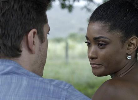 Raquel pressiona Bruno: 'Não vou aceitar um amor à base de mentiras'