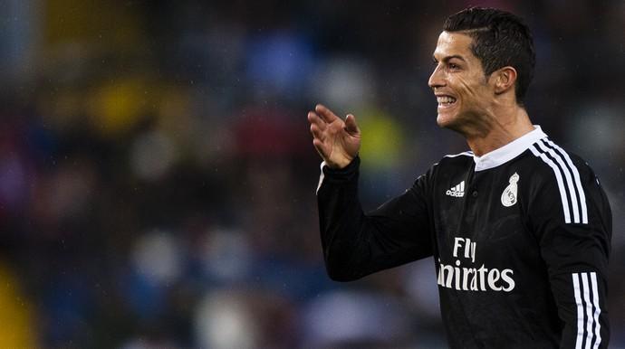 Cristiano Ronaldo Real Madrid x Málaga (Foto: AP)