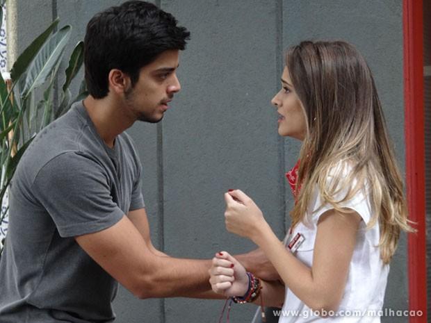 VISH...vai dar treta, Fatinha! Acho que o Bruno não shippa vc + Soberba não... (Foto: Malhação / Tv Globo)